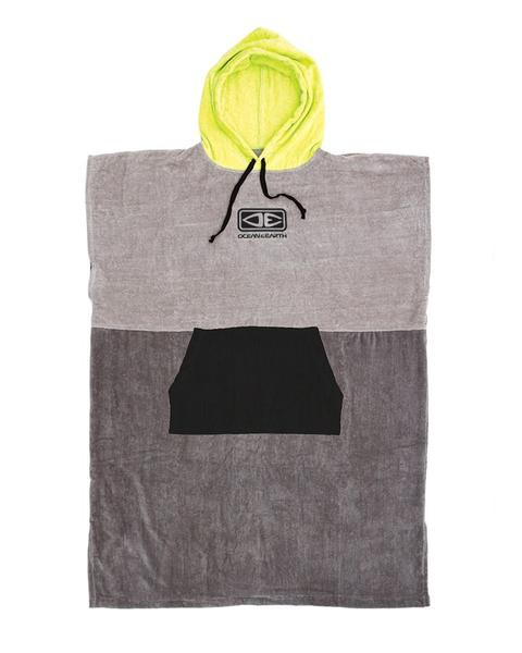 Mens Daybreak Hooded Poncho – Lime